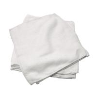 白色毛巾12吋X12吋 - 12條裝