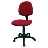 Sakura CG-888 紅色中背油壓轉椅