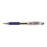 斑馬牌 JANMEE 按掣原子筆 0.7毫米 藍色