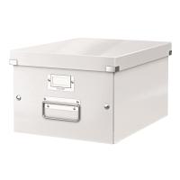 利市Click & Store 儲存盒 白色  (適合存放A4文件)