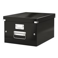 利市Click & Store 儲存盒 黑色 (適合存放A4文件)
