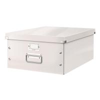 利市Click & Store 儲存盒 白色  (適合存放A3文件)