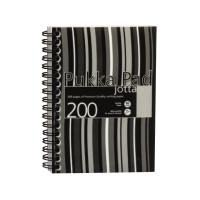 Pukka Pad Stripes A5 黑色線圈筆記簿