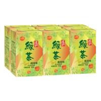 道地蘋果綠茶250毫升 - 6包裝