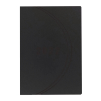 LUXE BOOK PLANNER BLK (2P/MONTH) A4 48P
