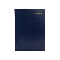 LUXE 52C DIARY A5 2D/P BLU