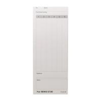 Z120 計時打卡鐘咭紙 100張
