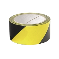 警示膠紙 黑/黃 48毫米 x 25米