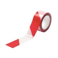 警示膠紙 紅/白 48毫米 x 25米
