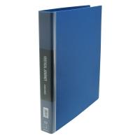 Data Base 雙孔文件夾 38毫米 藍色