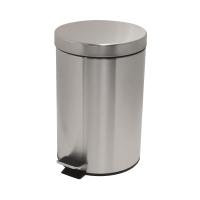 不銹鋼腳踏垃圾桶 6公升
