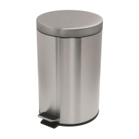 不銹鋼腳踏垃圾桶 12公升