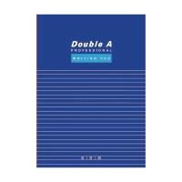 Double A 單行簿 A4