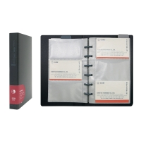 Data Bank QNC120  黑色活頁咭片簿