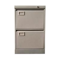 兩斗鋼文件櫃(灰色) 高71.8 X 闊458 X 深635厘米