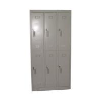 六門鋼儲物櫃 灰色