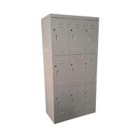 九門鋼儲物櫃 灰色