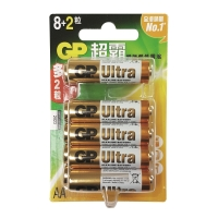 GP 超霸特強鹼性電池 AA - 8粒裝