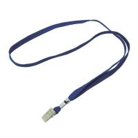 名牌頸繩 藍色