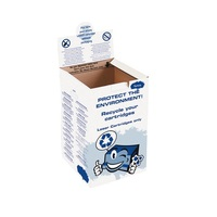 RECYCLING BOX FOR USED LYRECO LASERCART