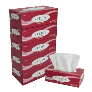 唯潔雅 超柔版盒裝面紙 - 5盒裝