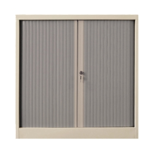 雙門膠閘捲門鋼櫃 高92 X 闊90 X 深45.7厘米