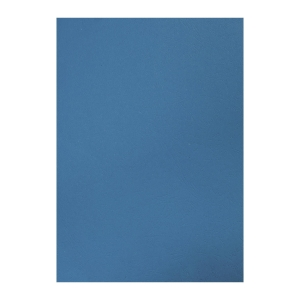 M&A 雙面皮紋釘裝封面咭A4 230磅 藍色 - 每盒100張
