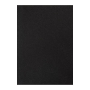 M&A Leathergrain Binding Cover 230g A4 Black - Pack of 100