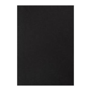 M&A 雙面皮紋釘裝封面咭A4 230磅 黑色 - 每盒100張