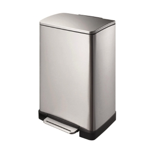 Stainless Steel Step on Waste Bin 40L
