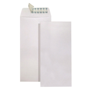 White Self-adhesive Envelope 9.5 x 4.5 inch - Pack of 20