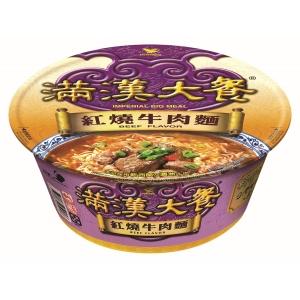 IMPERIAL 統一 滿漢大餐紅燒牛肉麵 187克