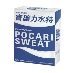 Pocari 寶礦力水特 電解質補充飲料沖劑 74克 - 5包裝