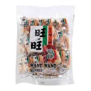 Want Want 旺旺 仙貝米果 - 40包裝