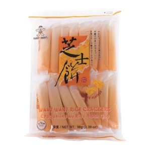 Want Want Cheese Rice Crackers - Pack of 16