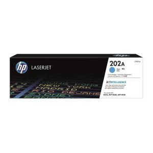 HP CF501A LaserJet Toner Cartridge (202A) - Cyan