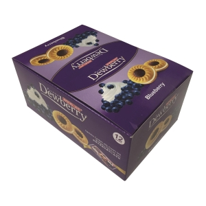 Jack N Jill Sandwich Cookies with Blueberry Jam - Box of 12