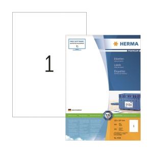 Herma 4428 Multi-purpose Label 210 x 297mm - Box of 100