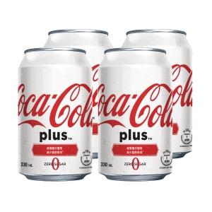 Coca Cola 可口可樂 PLUS 330毫升 - 4罐裝
