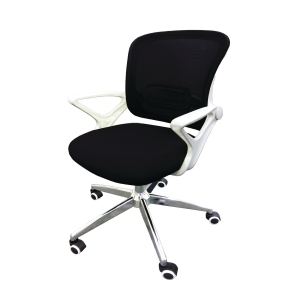 Mid-back Mesh Chair with Arm Black