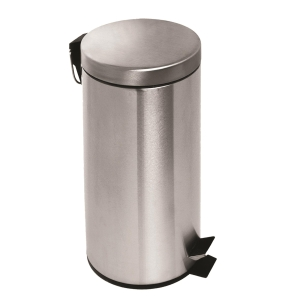 Stainless Steel Step On Waste Bin 30L