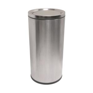 不銹鋼搖蓋垃圾桶 50L