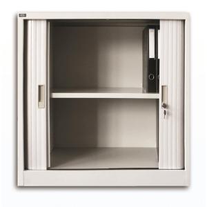 雙門膠閘捲門鋼櫃 2層 H90 x W91.2 x D45 cm
