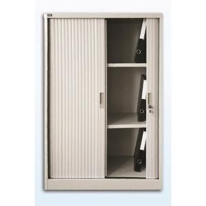 雙門膠閘捲門鋼櫃 3層 H120 x W91.2 x D45cm