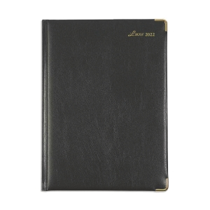 Luxe 41CF 日記簿 一頁一日 A4 黑色
