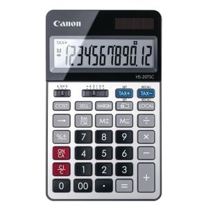 Canon HS-20TSC Desktop Calculator 12 Digits