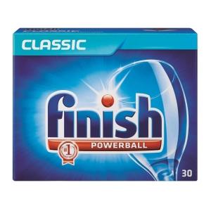 Finish 亮碟 洗碗機強效洗碗球 - 30粒裝