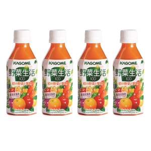 KAGOME 甘筍混合汁 280毫升 - 4支裝