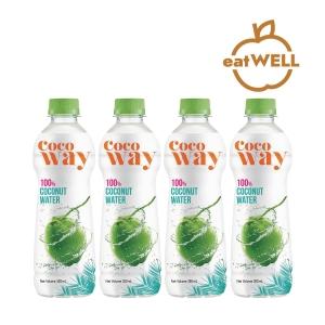 COCOWAY 100%椰青水 350毫升 - 4支裝