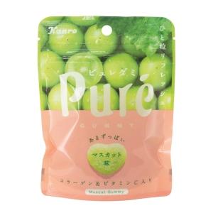 Kanro甘樂糖 Pure 青葡萄軟糖 35克 - 6包裝